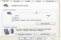 Captura Realtek AC97 Audio Drivers (Vista/7)