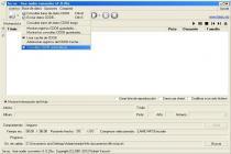 Captura fre:ac (free audio converter)