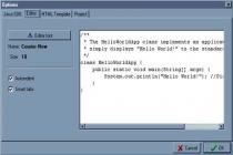 Captura Java Editor