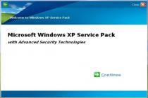 Captura Windows XP Service Pack 2