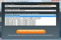 Captura YouTube Clip Extractor Basic