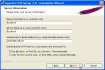 Captura Apache HTTP Server