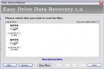 Captura Easy Drive Data Recovery