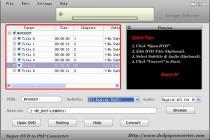 Captura Lenogo DVD Movie to PSP Video Converter